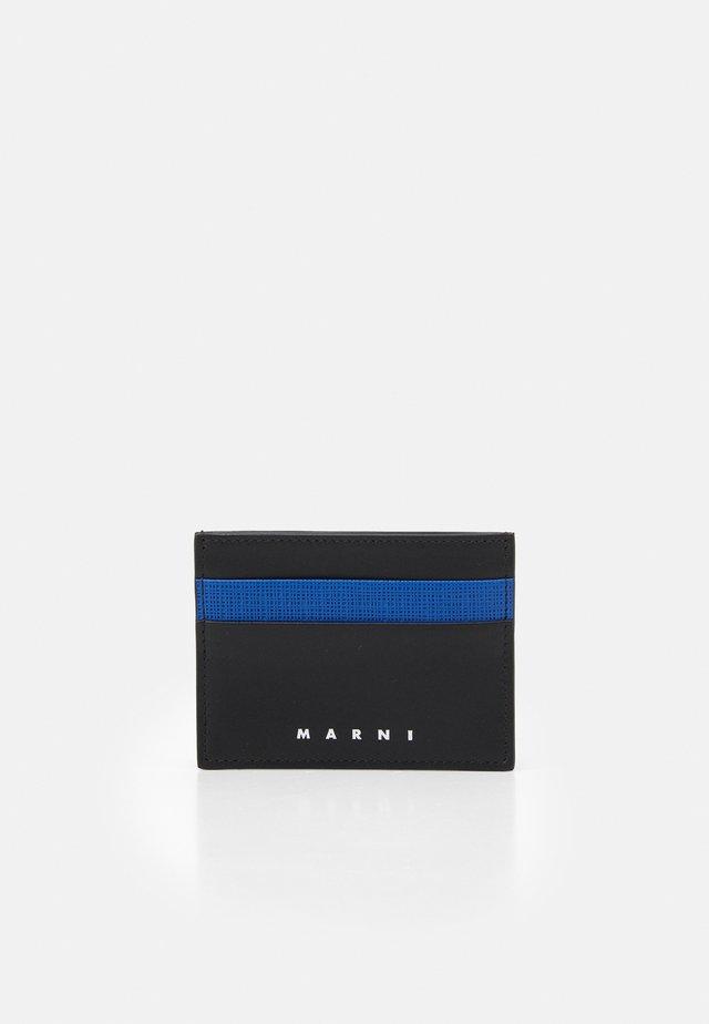 WALLET UNISEX - Plånbok - mazarine blue / black