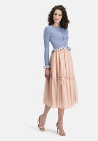 Nicowa - Pleated skirt - lachs - 1