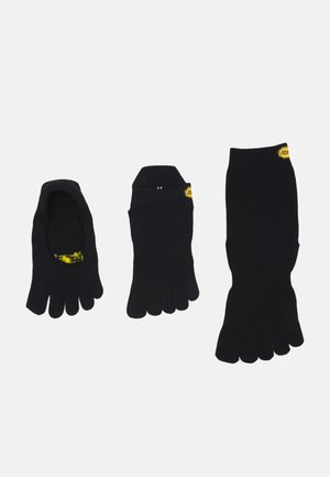 CREW 3 PACK UNISEX - Sports socks - black