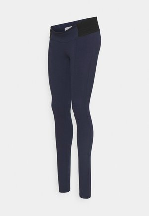 MLREYNA - Leggings - Trousers - navy blazer