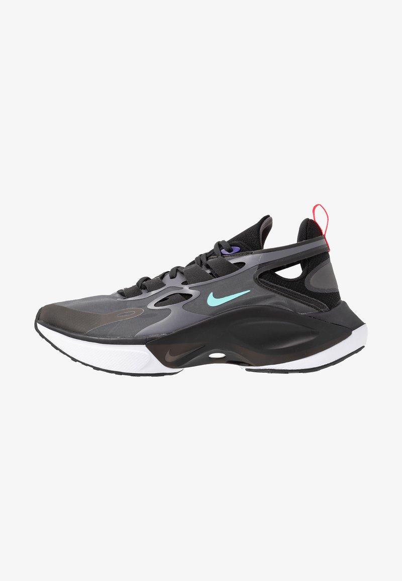 Nike Sportswear - SIGNAL D/MS/X - Sneakers - black/dark grey/off noir/rush violet/light aqua/red orbit