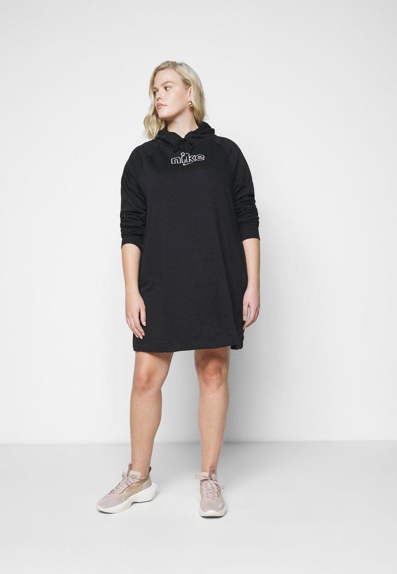 Nike Sportswear - DRESS - Day dress - black/sail