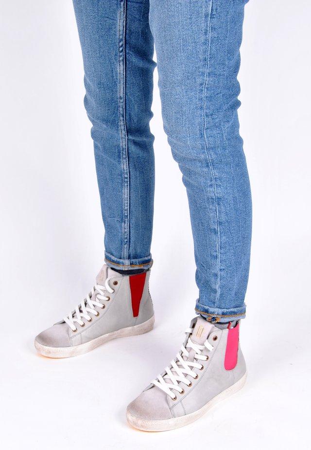 Sneakers hoog - grau