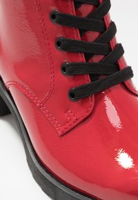 Marco Tozzi - Platform ankle boots - red - 2
