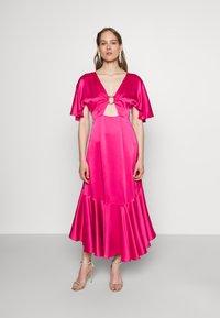 HUGO - KAVORA - Maxi dress - bright pink - 0