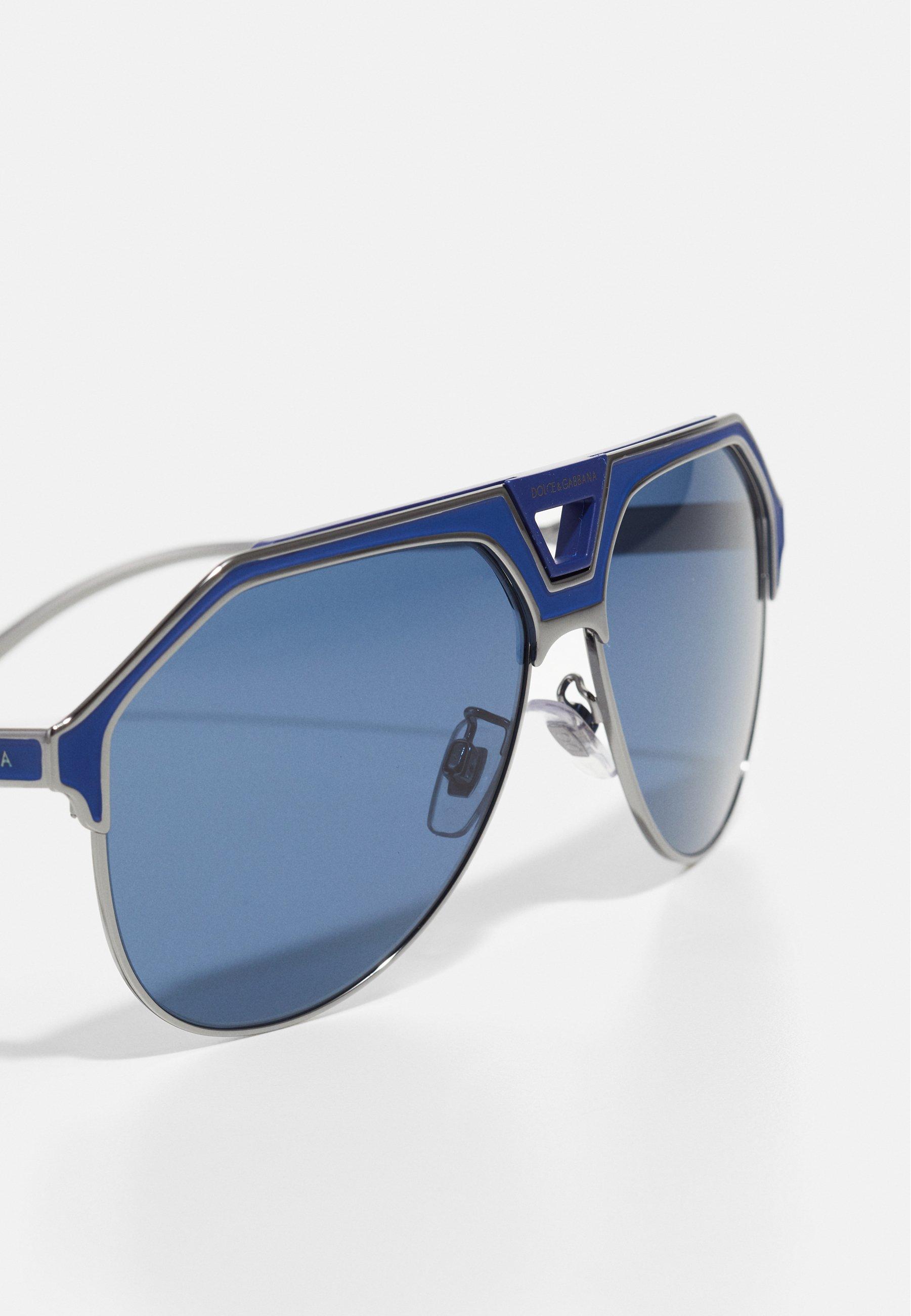 Dolce&Gabbana Solbriller - gunmetal/blue matte/gunmetall fzFbuGBNWHooRVv