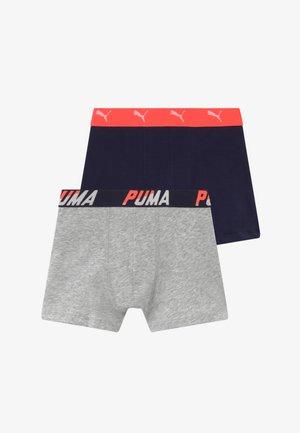 BASIC BOXER 2 PACK - Pants - dark blue