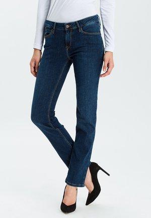 ROSE - Straight leg jeans - dark-used