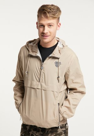 SCHLUPFJACKE - Windbreakers - beige