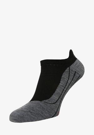 RU4 INVISIBLE - Trainer socks - black/grey