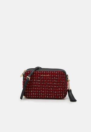 JET CAMERA BAG - Across body bag - bright red