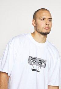 Edwin - SAD - Print T-shirt - white - 3