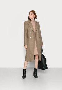 Glamorous Tall - LADIES COAT - Klasický kabát - oatmeal - 1