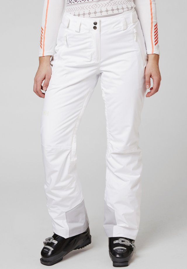 LEGENDARY INSULATED PANT  - Snow pants - white