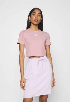 AIR TOP CROP - Print T-shirt - pink glaze/white