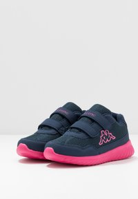 Kappa - CRACKER II  - Sports shoes - navy/pink - 3