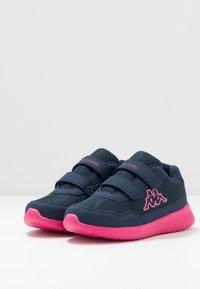 Kappa - CRACKER II  - Scarpe da fitness - navy/pink - 3