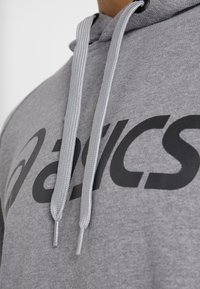ASICS - BIG HOODIE - Hoodie - mid grey heather/dark grey - 6
