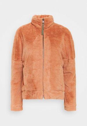 BUNDLE UP FULL ZIP  - Outdoor jacket - nova pink/stone green