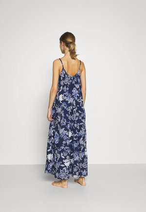 SUMDW FLAX DRESS - Nightie - pangea blue