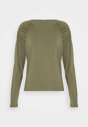 VMPANDA GATHERING - Long sleeved top - kalamata