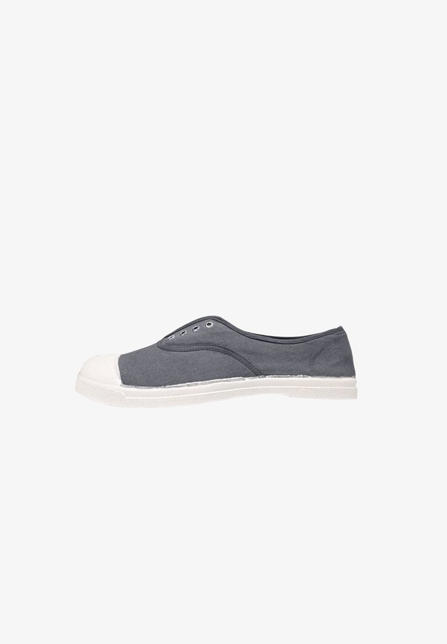 BENSIMON TENNIS WITH EYELETS AND ELASTIC F15149 - Baskets basses - grey
