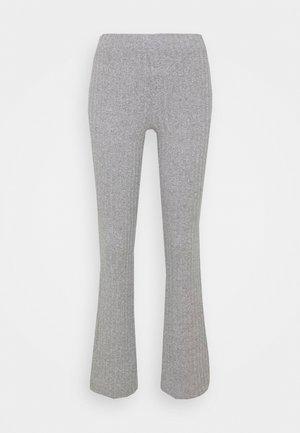 TARA TROUSERS - Pantaloni - grey melange