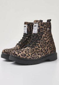 British Knights - SNEAKER BLAKE - Ankle boots - brown leopard - 3
