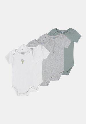 BABY 5 PACK UNISEX - Body - grey melange