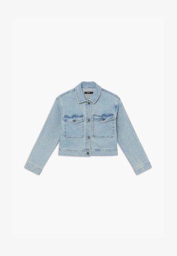 NLFTEM SHORT JACKET - Denim jacket - light blue denim