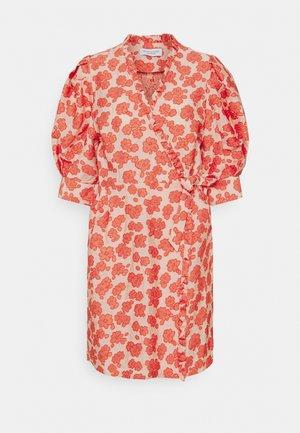 KRISTEN - Day dress - coral
