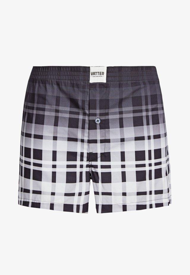 LARRY - Boxer shorts - black/white