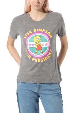 THE SIMPSONS LISA - Print T-shirt - (the simpsons) lisa 4 prez