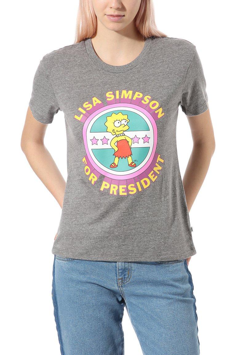 Vans - THE SIMPSONS LISA - Print T-shirt - (the simpsons) lisa 4 prez