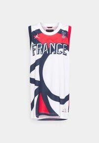 Jordan - FRANCE JUMPAN - T-shirt med print - white/college navy/university red - 5