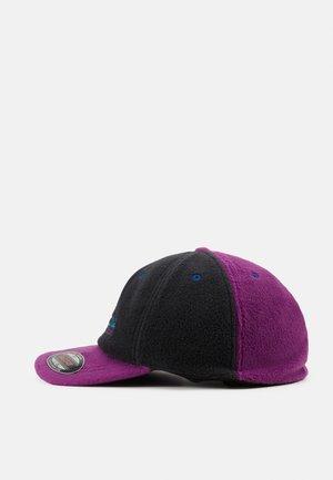 UNISEX - Cap - black/plum