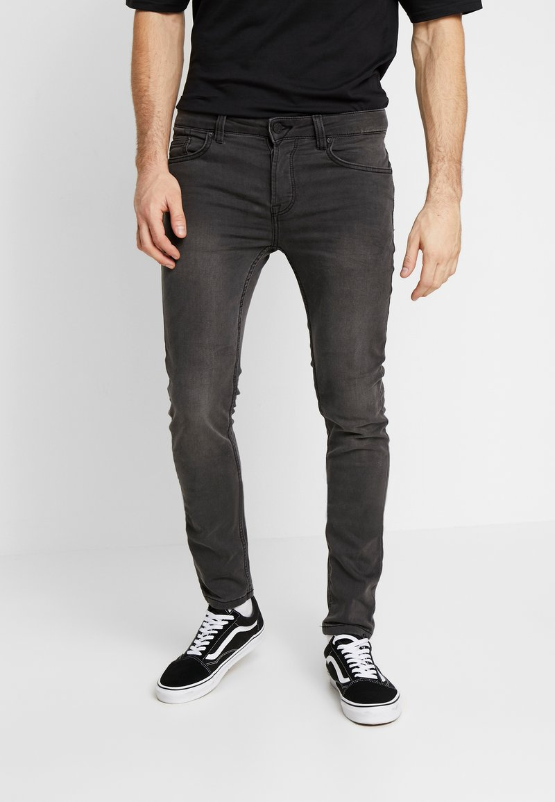 Only & Sons - Jeansy Slim Fit - black denim