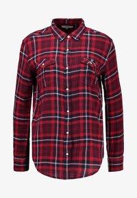 Lee - REGULAR WESTERN - Button-down blouse - warp red - 3