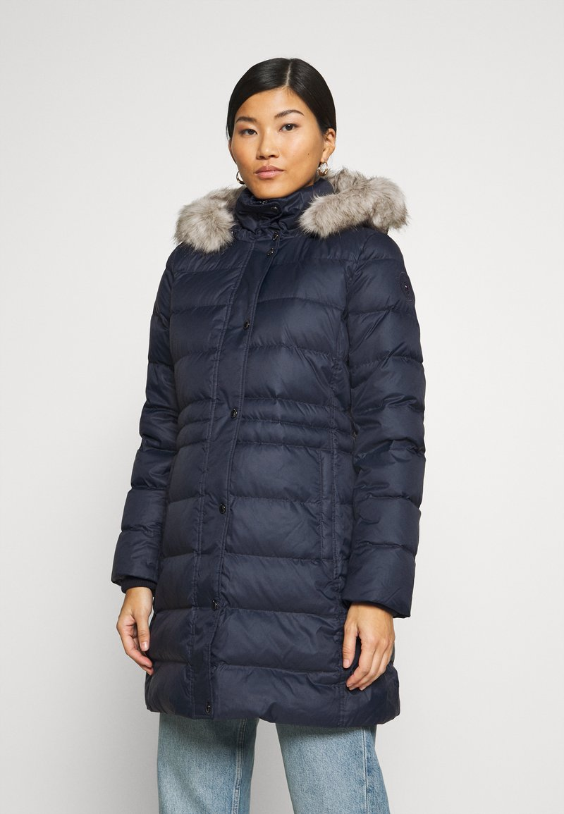 Tommy Hilfiger - TH ESS TYRA  - Down coat - desert sky