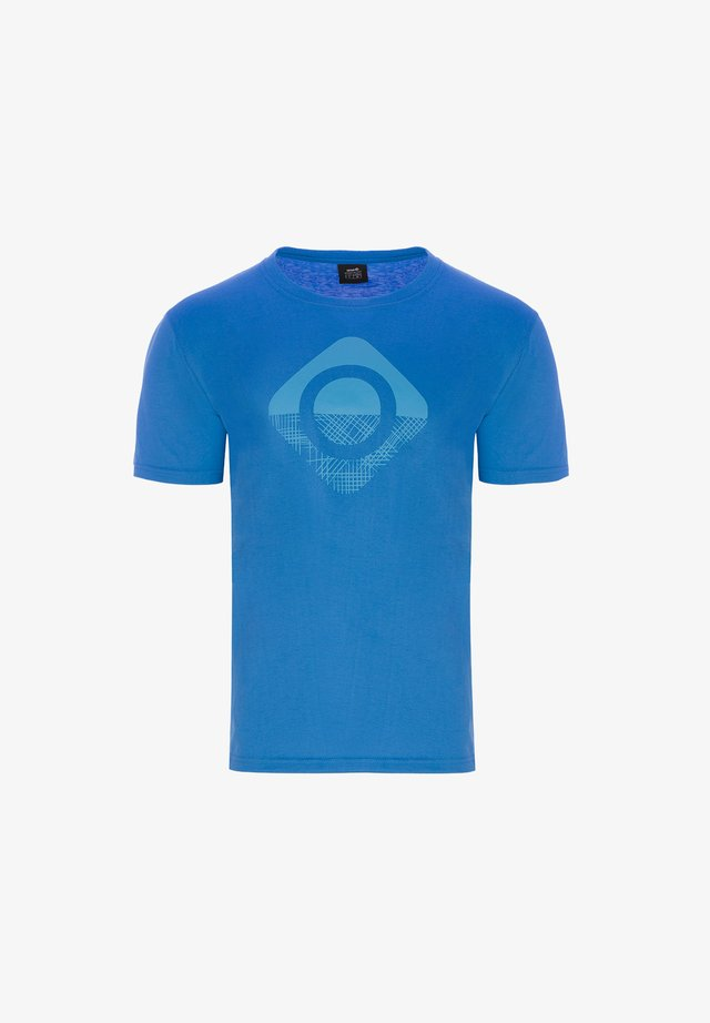 GRANBY - T-shirt con stampa - royal/turquoise