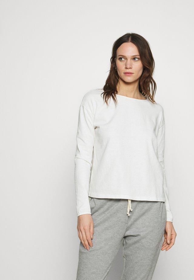 RITASUN - T-shirt à manches longues - ecru
