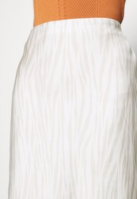 Banana Republic - BIAS MIDI SLIP - A-line skirt - neutral - 5