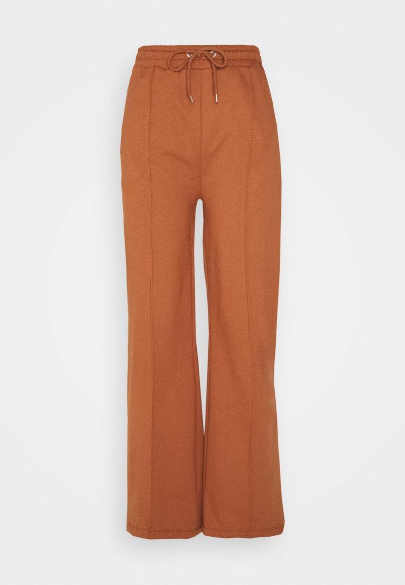 Trendyol - Tracksuit bottoms - camel