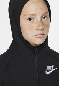 Nike Sportswear - FULL ZIP - Mikina na zip - black/white - 4