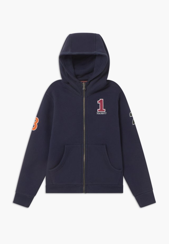 NUMBER FULL ZIP - Sweatjakke /Træningstrøjer - navy