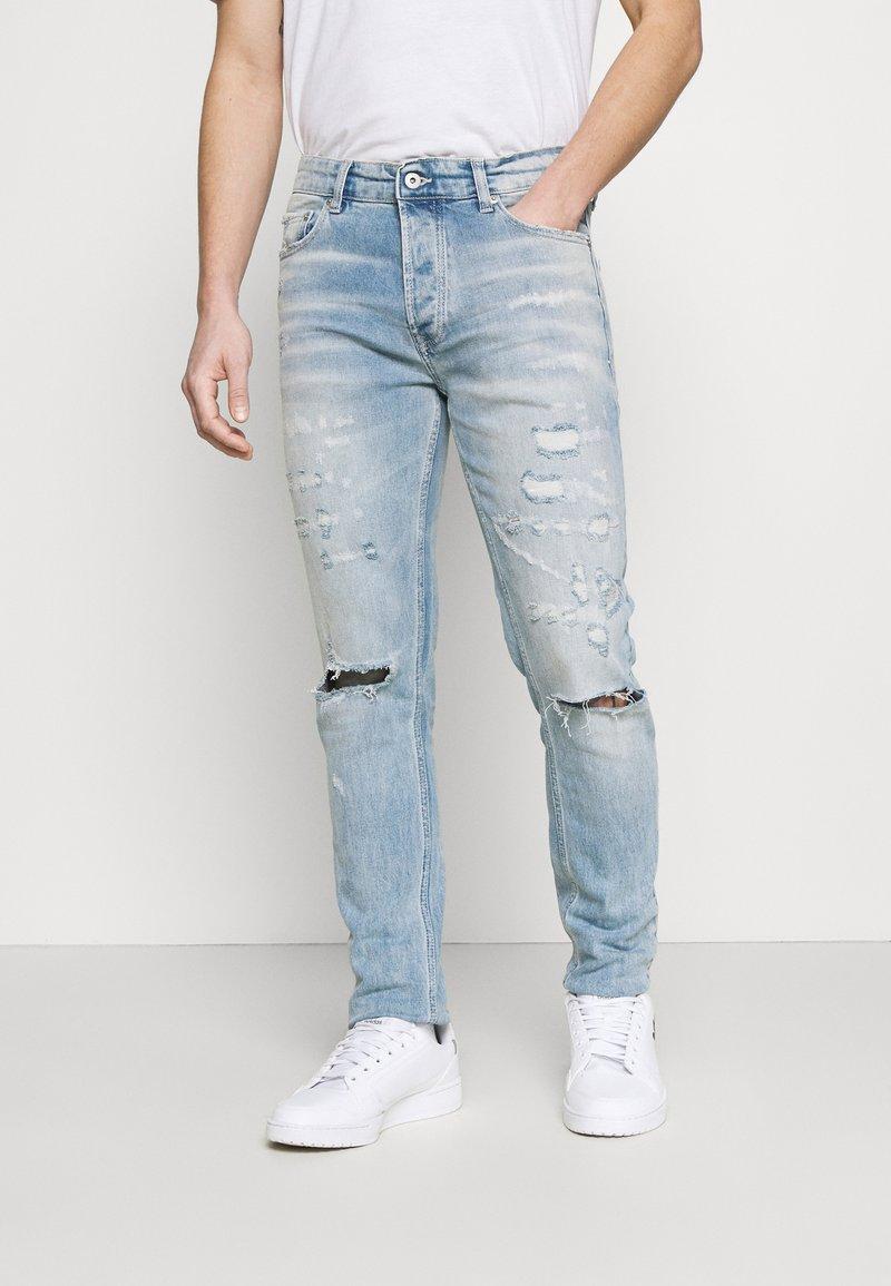 Topman - BLEACH - Slim fit jeans - light wash