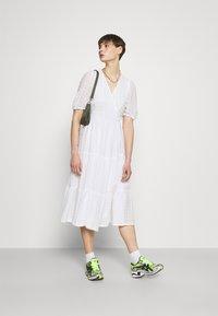 Monki - YOSSE DRESS - Day dress - white light - 1