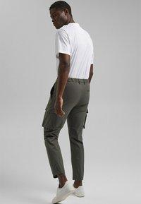 Esprit Collection - Cargo trousers - dark khaki - 2