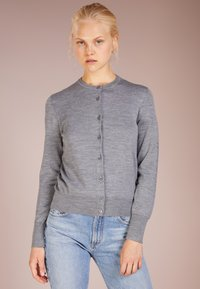 Filippa K - SHORT CARDIGAN - Cardigan - mid grey melange - 0