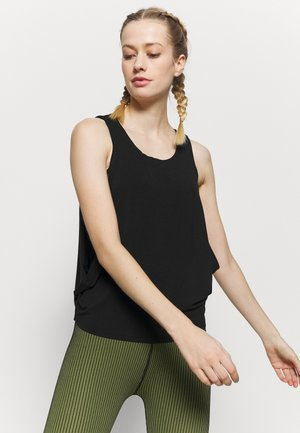 BUCKLEY TANK - Top - solid black